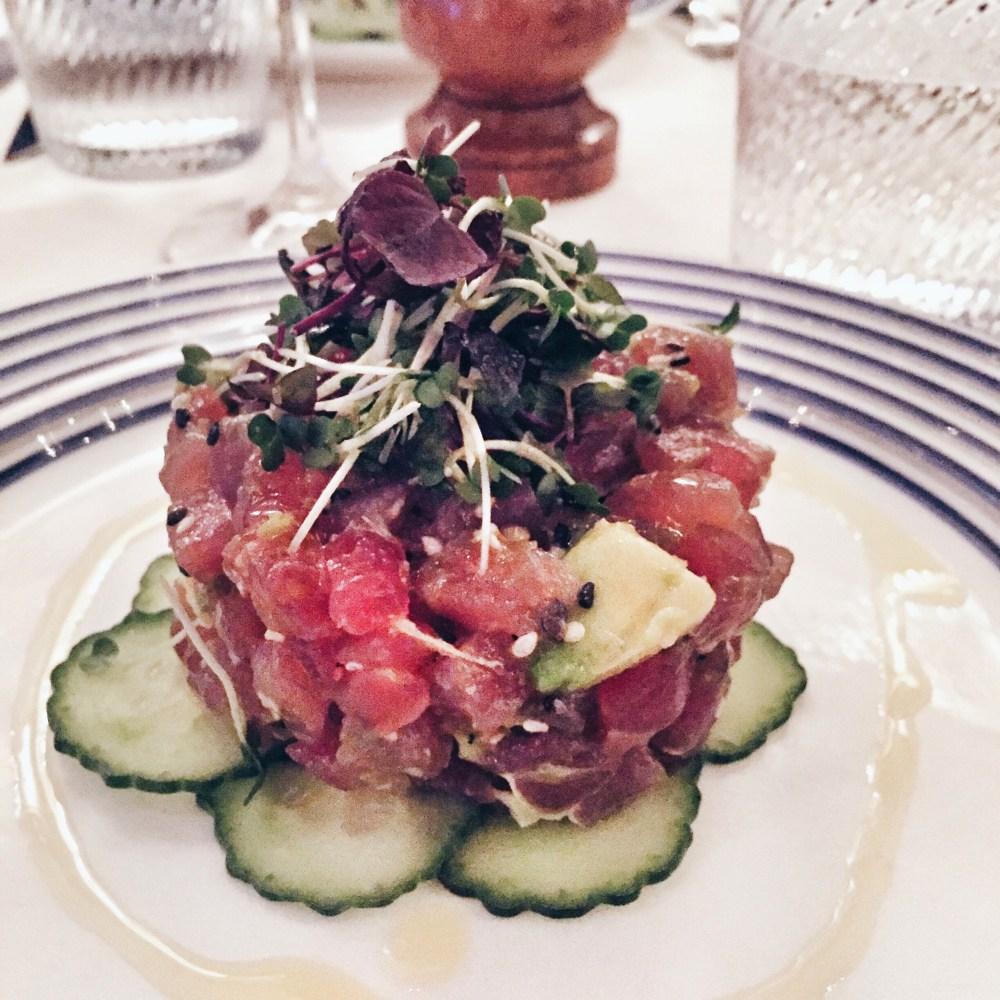 8 Dec 2016: Tuna Tartare @ George Club | London, England