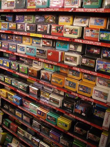 Family Computer Famicom NES Games At Super Potato