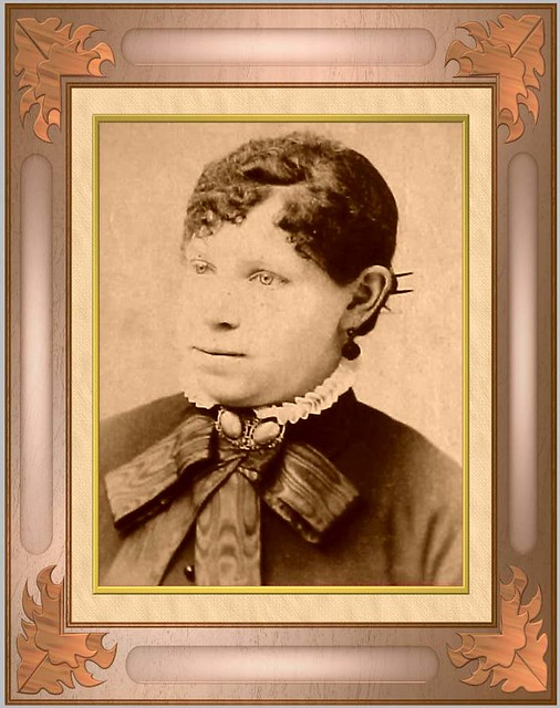 Female Portrait: my great grandmother | This is my great ...