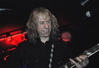 Brian Tatler of Diamond Head live at Limelight, Belfast, 27 June 2015