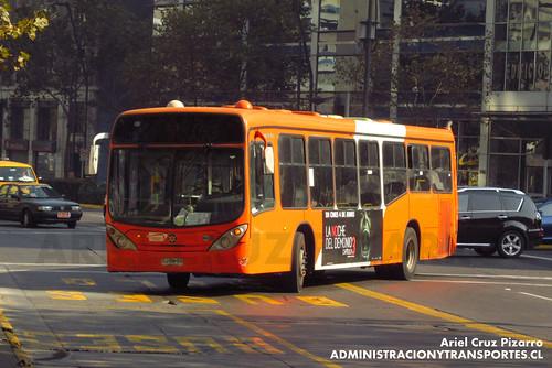 Transantiago - Express de Santiago Uno - Marcopolo Gran Viale / Volvo (CJRH69)