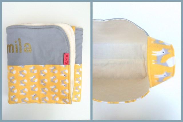 mila (blanket + divided basket)