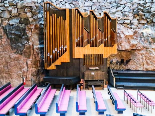 Organo iglesia Helsinki