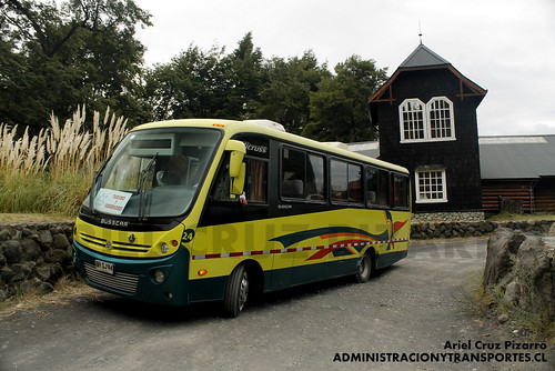 Ruta Sur Austral - Petrohué - Busscar Micruss / Volkswagen (BHSJ44)