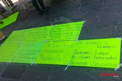 Ambulantes exigen equidad a comercio municipal