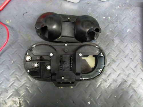 Instrument Pod-Outer Cover Removed