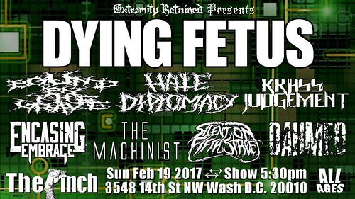 Dying Fetus at the Pinch