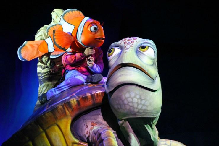 Finding Nemo the Musical Animal Kingdom Oct 2016 26