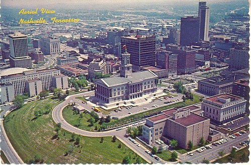 1960s Aerial View Of The Capitol Post Card This Is