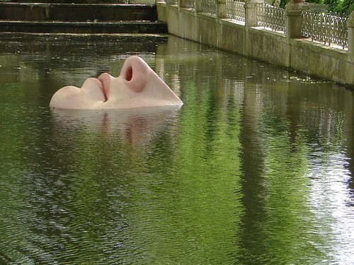 Strange Things Can Be Seen In Luxembourg Garden Park Of