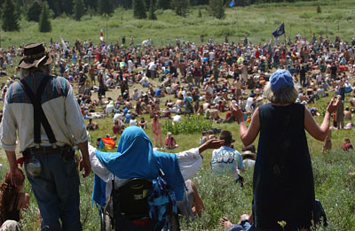 2006 Rainbow Gathering Of The Tribes Photo By Peter Fre