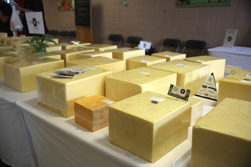 Cheese Awards at the Royal Bath and West Show