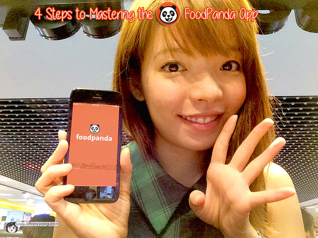 FoodPanda App Guide Tiffany Yong
