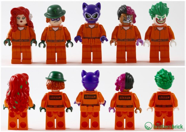 The Lego Batman Movie 70912 Arkham Asylum Review The Brothers