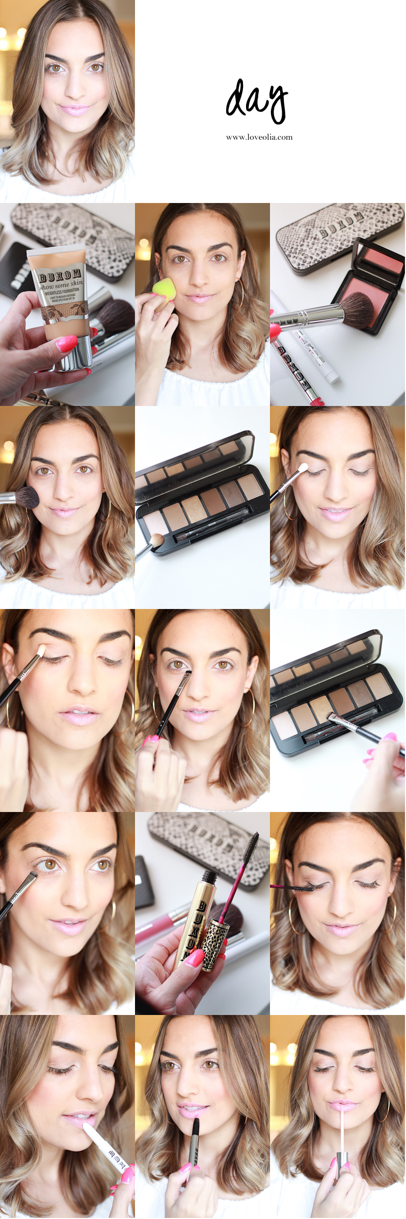 day to night makeup tutorial buxom cosmetics