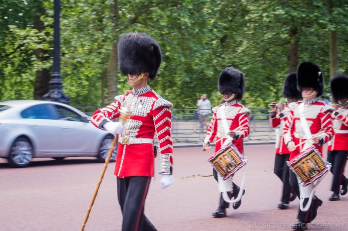 Buckingham Palace London Guards