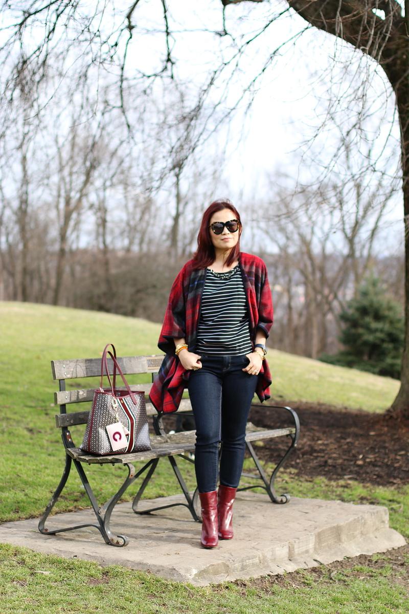 stripe-shirt-plaid-poncho-burgundy-accessories-6