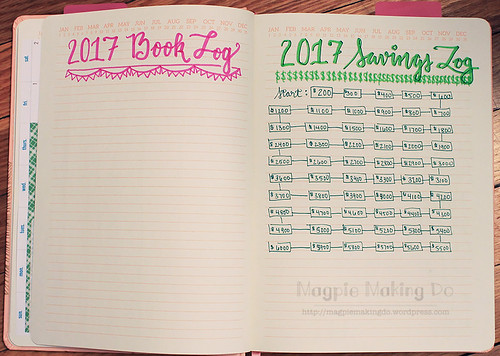 book and savings log