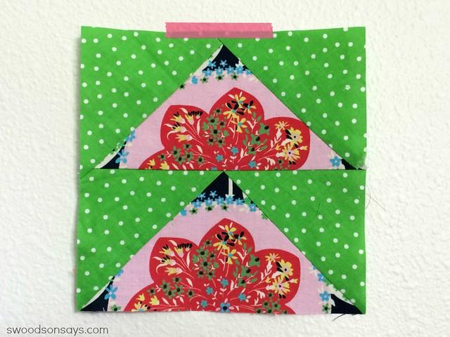 Amy Butler Paper Piecing