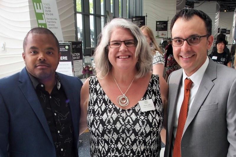 Roger, Alexa & John at Toronto Taste 2015