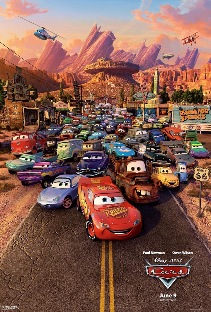 Autot juliste | Pixar-perjantai: Autot - Disnerd dreams