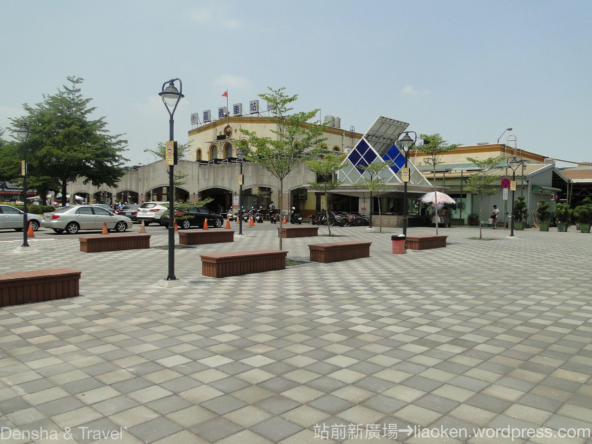 站前廣場與行人穿越道