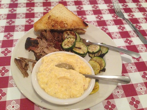 Pulled Pork and Grits