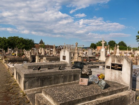Cemetery in St. Sulpice