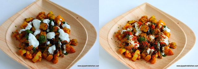 sweet potato chaat 4