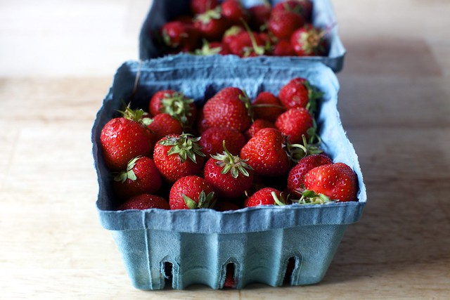 tiny jersey strawberries