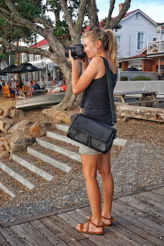 The Jo Totes Abby camera bag is functional and stylish - what more could you want?