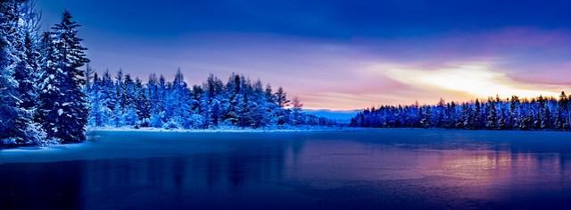 Winter at Irishtown Reservoir