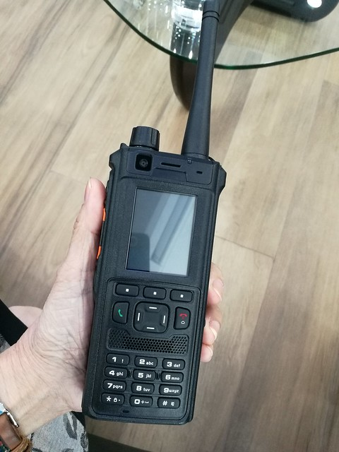 Walkie talkie with video
