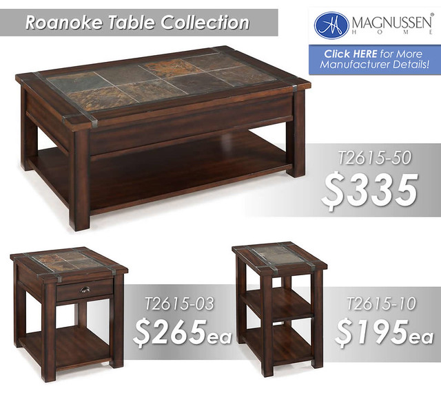 Roanoke Table Collection Group Image T2615
