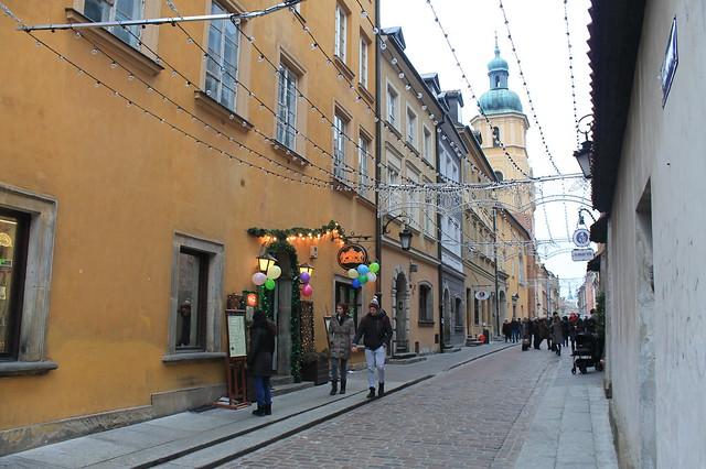 Ciudad Vieja de Varsovia