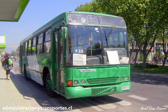 Transantiago I10 | CNM | Marcopolo Torino GV - Volvo / SB8923