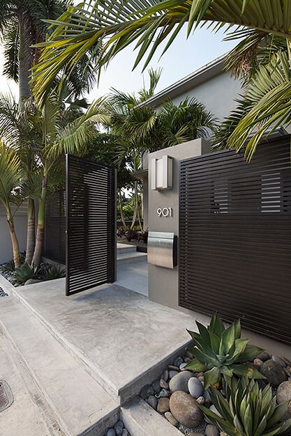 stunning modern gate design ideas 2
