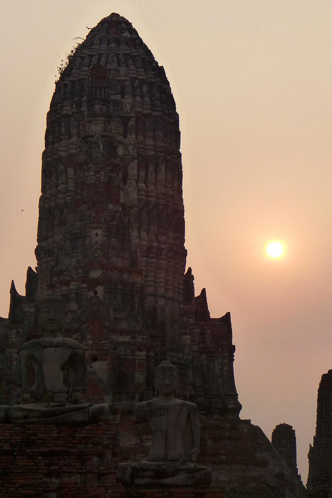 Thaïlande - Ayutthaya - 152 - Wat Chaiwatthanaram