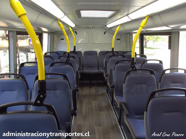 Interior Piso 2   ADL Enviro 500 / FLXT45