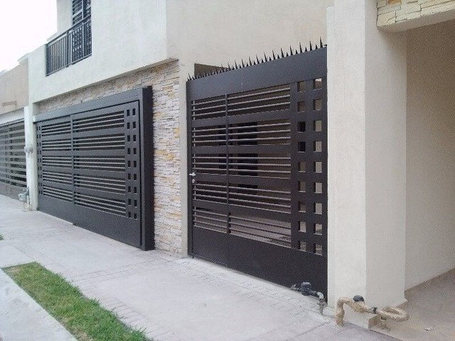 stunning modern gate design ideas 11