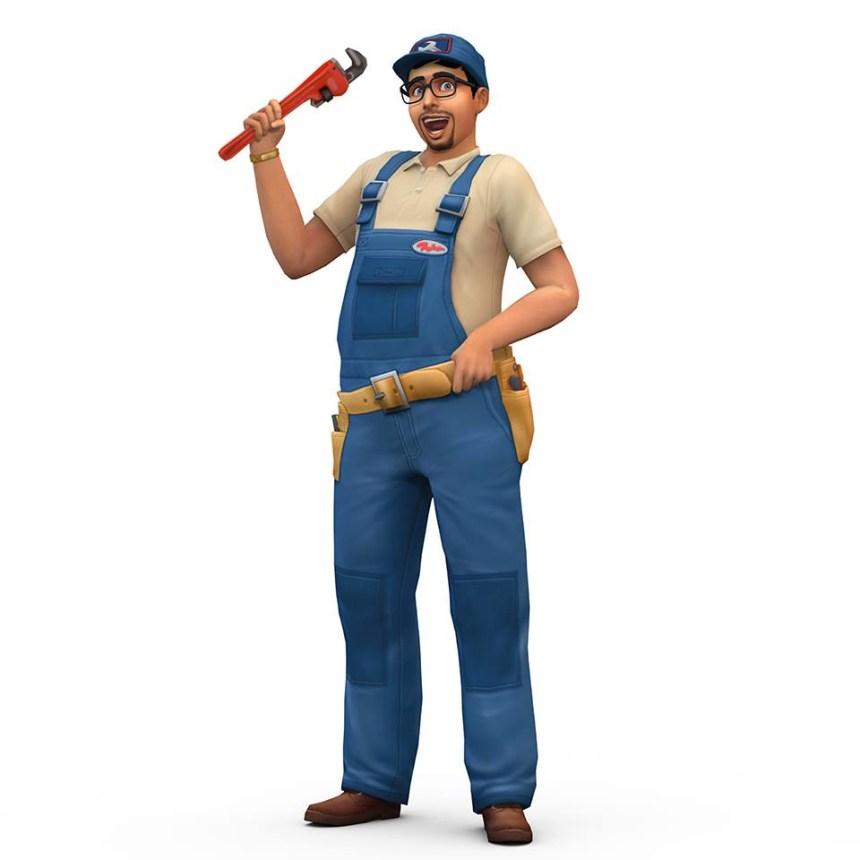Sims 4 réparateur
