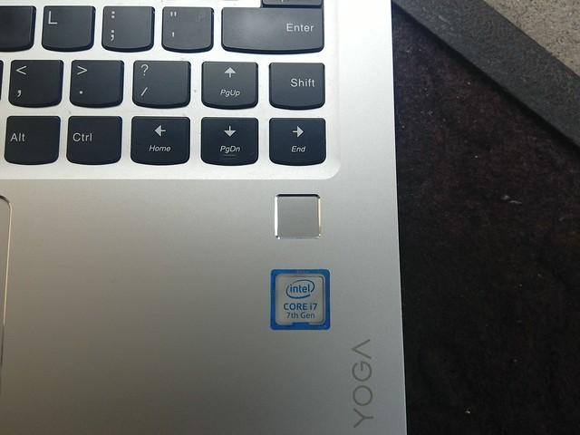 Lenovo Yoga 910 - Fingerprint reader
