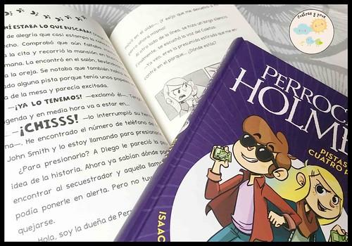 Libro Perrock Holmes. Reseña