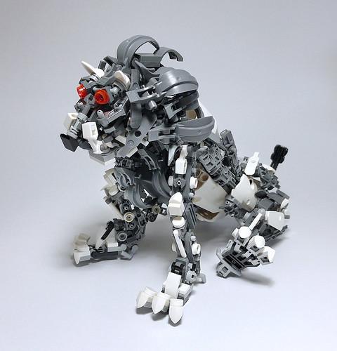 LEGO Mech Lion-03
