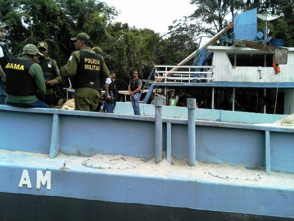 Prefeito é preso em operação de combate à extração de seixo em leito de rio, Faro - extração de seixo