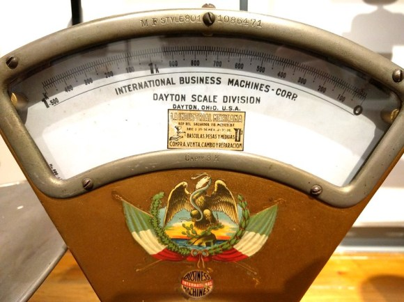 Turns out IBM used to make kitchen scales