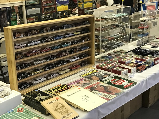 die-cast cars at the 29th Annual Tucson Collectible Toy Show and Sale