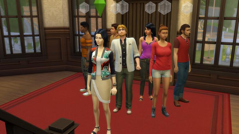 Les Sims 4 Vivre ensemble