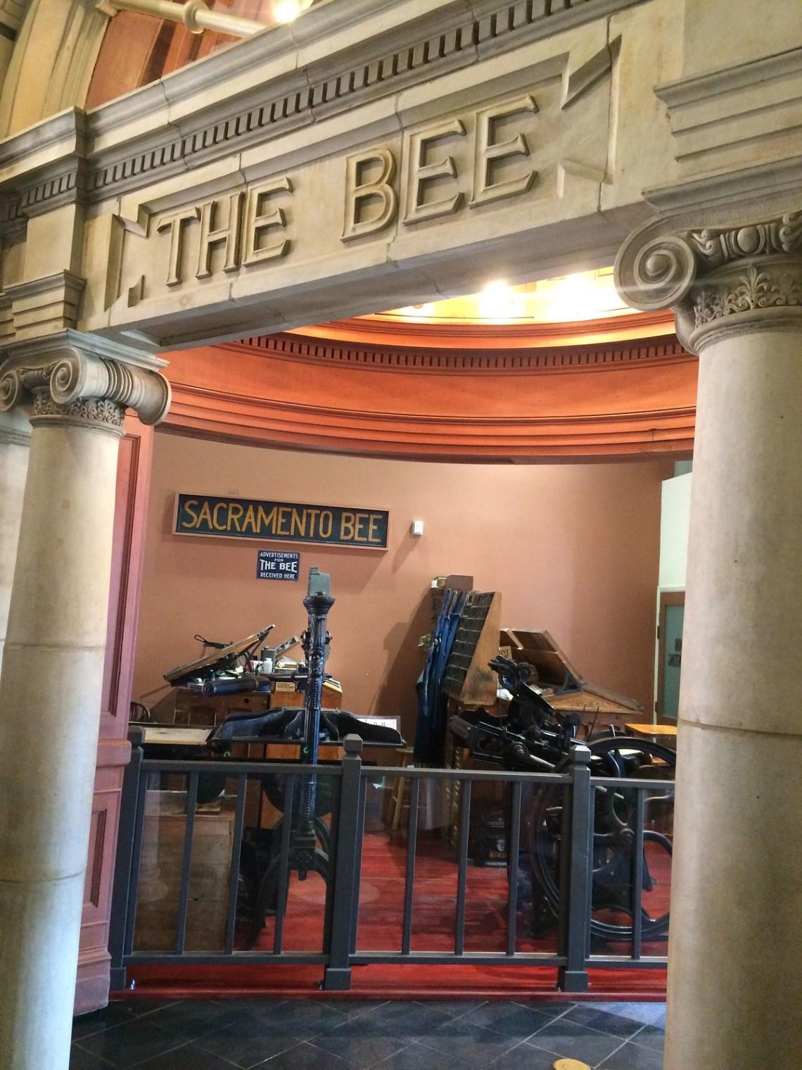 Old Sacramento Bee Equipment