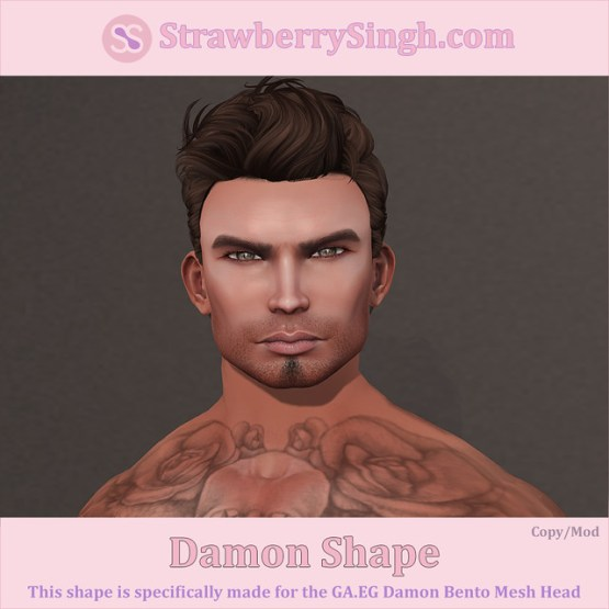 StrawberrySingh.com Damon Shape